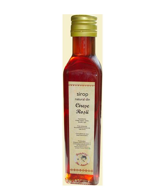 Sirop natural de Cirese rosii