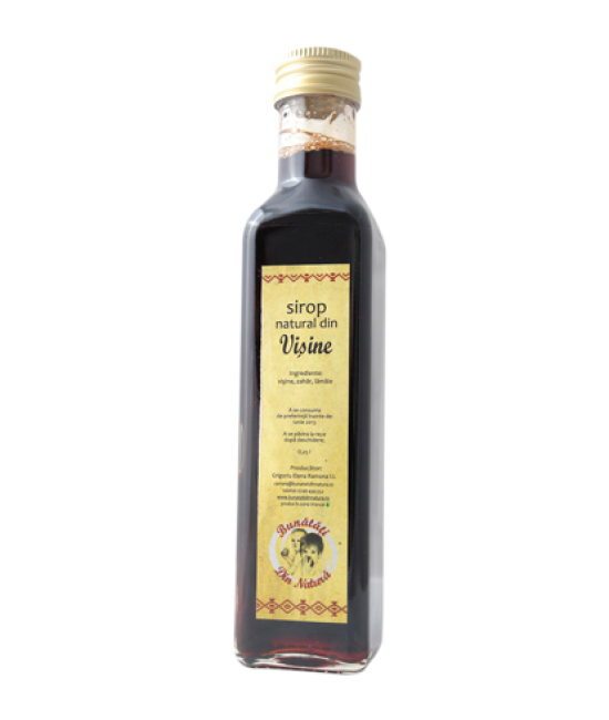 Natural Morello cherries syrup