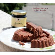 Ciocolata de casa cu merdenchi (fara zahar)